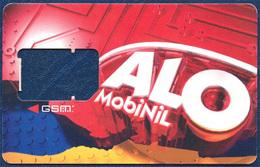 EGYPT - Egypte - Ägypten MOBINIL ALO GSM (SIM) CARD FRAME VERY GOOD USED - Egypt