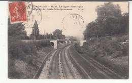 78 - Viroflay - Ligne électrique - Gare Montparnasse - Chemin-de-fer - Locomotive ETAT - Viroflay