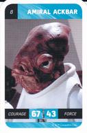 (N°08) STAR WARS - Amiral Ackbar - Star Wars
