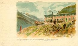 Grüner's Hochjoch-Hospitz Am Hochjochferner Pinx Reisch - Italia