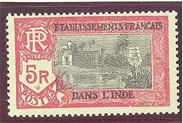 Inde: Yvert N° 104*; MH - India (1892-1954)