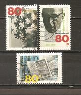 Holanda-Holland  Nº Yvert  1638-40 (Usado) (o) - Periodo 1980 - ... (Beatrix)