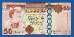 Libye  50  Dinars - Libia