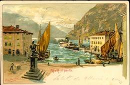 Riva Del Garda Il Porto  Pinx Splinder - Altre Città
