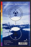 2009 Finland - PPRG - Finland MS - Start Of The Series - Paper - MNH** Mi B 55 Round Stamps - Preserve The Polar Regions And Glaciers