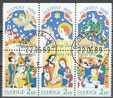 SVERIGE - SVEZIA - SWEDEN - 1988 - Serie Completa Obliterata: Yvert 1496/1501; 6 Valori Uniti. - Gebraucht