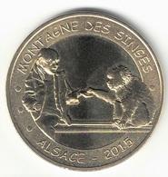 Monnaie De Paris 67.Kintzheim - 10 Montagne Des Singes 2015 - 2012