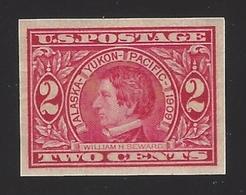 US #371 1909 Carmine Imperf Wmk 191 MNH XF SCV $35 - Etats-Unis