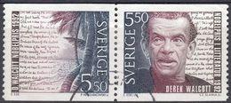 SVERIGE - SVEZIA - SWEDEN - 1992 - Due Valori Obliterati Uniti: Yvert  1734 E 1735. - Schweden