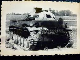 PHOTO WW2 WWII : Char PANZER II           //1.07 - Guerra, Militari