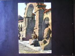 """BOLIVIA - POSTCARD """"INCA DOOR OF THE CHURCH OF TIAHUANACA"""" - Bolivia"""