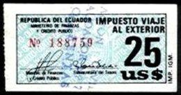 ECUADOR, Revenues, Used, F/VF - Equateur