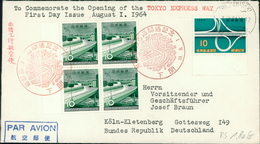 Japan 1964, Opening Of The Tokyo Express Way, Michel 867 (1195) - FDC