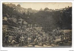 GENIO ZAPPATORI CAMPI MOBILITATA 1919 - CITTA' DI  ALBA - CARTOLINA FOTOGRAFICA CARTA TENSI FP - Guerre 1914-18