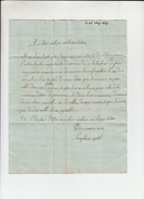 Vieille Lettre  De AVIGNON  Vaucluse   Le 26 Mai 1809    Pour ST GILLES Gard - Manuscripts