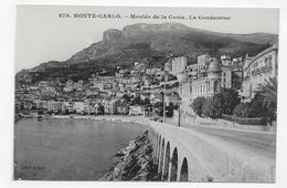 MONACO - N° 876 - MONTEE DE LA COSTA - LA CONDAMINE - CPA NON VOYAGEE - La Condamine