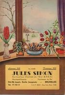 Catalogue 1949-1950 Jules Simon Bruxelles - Jardinage