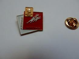 Beau Pin's , JO , Jeux Olympiques Albertville 92  , Short Track , Albertville , Signé COJO 1991 - Olympische Spiele
