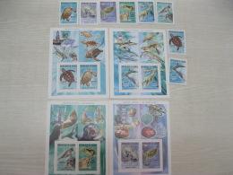 Guinea 2005 Prehistoric And Marine Animals 4214-4221 Bl 921-924 - Guinée (1958-...)