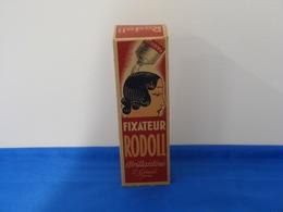 "Ancienne Boîte En Carton ""FIXATEUR RODOLL"" Brillantine. - Boîtes"