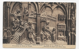 AMIENS - CATHEDRALE - STALLES DU CHOEUR - DETAILS - CPA VOYAGEE - Amiens