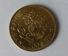 Moneta 200 LIRE - Italia - 1994 - Arma Dei Carabinieri (Vedi Foto) - 1946-… : Repubblica