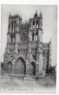 AMIENS - CATHEDRALE - N° 96 - LA FACADE - CPA NON VOYAGEE - Amiens