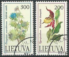 LITAUEN 1992 Mi-Nr. 499/00 O Used - Aus Abo - Lithuania