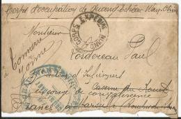 Env  Cad  CORPS EXP TONKIN  27 Janv 1899  Cachets Transit Verso Pour TONNERRE (yonne) B - China (1894-1922)