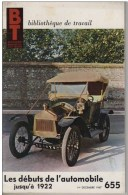 Bibliothèque De Travail N° 655 -Les Débuts De L´automobile Jusqu´à 1922 -Pédagogie Freinet - Bücher, Zeitschriften, Comics