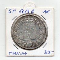 Francia - 1819 - B - 5 Franchi - Argento - (FDC9512) - J. 5 Francs