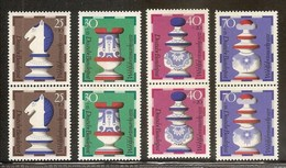 1972 GERMANIA GERMANY BENEFICENZA  CHARITY 2 Serie Di 4v. (592/95) MNH** - [7] Federal Republic