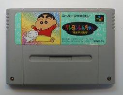 Super Famicom : Crayon Shin-Chan: Arashi O Yobu Enji / SHVC-KU - Elektronische Spelletjes
