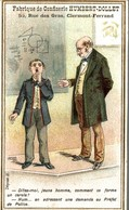 CHROMO FABRIQUE DE CONFISERIE HUMBERT-DOLLET CLERMONT-FERRAND   CHROMO HUMORISTIQUE - Sonstige