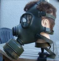 Masque A Gaz OM M 74 - Equipement