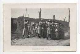 - CPA MILITAIRES - DEFENSE D'UNE ROUTE - - Guerre 1914-18