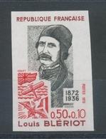 1972 France N°1709 50c+10c Rouge Et Gris Non Dentelé Neuf Luxe** D2837 - France
