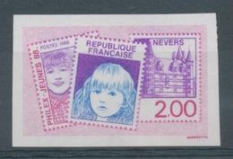 """1988 France N°2529a """"Philex-Jeunes 88"""" Non Dentelé Neuf Luxe** COTE 15€ D2936 - France"""