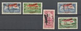 Colonies Françaises ALAOUITES Poste Aérienne N°13 à 17 N* Cote 95,65€ N2821 - Alaouites (1923-1930)
