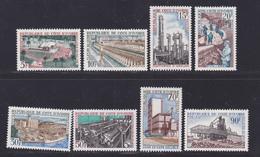 COTE D'IVOIRE N°  269 à 276 ** MNH Neufs Sans Charnière, TB (D7050) Industrialisation - Ivory Coast (1960-...)