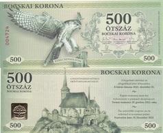 Hungary / Hajdunanasi - 500 Korona 2017 2021 Local Money UNC Ukr-OP - Hungary