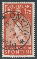 1937 REGNO USATO ILLUSTRI 1,75 LIRE - AS - Usati