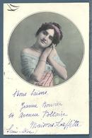 CPA - JEUNE FEMME - Femmes