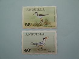 Oiseaux Birds 1968  Anguilla  Yv  22/3 ** Scott 38/9  Michel 38/9 SG 38/9 - Non Classificati