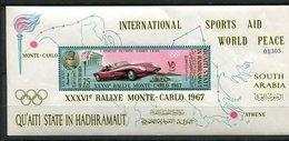 Qu'aiti ** Ref. Michel Bloc N° 14 A - Rallye De Monte Carlo - - Verenigde Arabische Emiraten