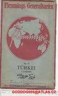 1924 Old Nice Map TURKIA ,,TURKEI - Livres, BD, Revues