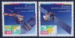 E126- GERMANY EUROPA CEPT 1991 SERIE COMPLETA GOMMA INTEGRA NUOVI. - Europa-CEPT