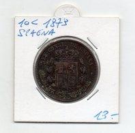 Spagna - 1879 - 10 Centesimi -  (FDC9520) - [ 1] …-1931 : Regno
