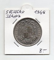 Spagna - 1949 - 5 Pesetas -  (FDC9521) - [ 5] 1949-… : Regno