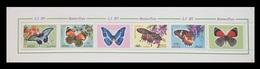 North Korea 2012 Mih. 5851/54 Fauna. Butterflies (booklet Sheet) MNH ** - Korea, North